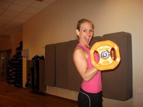 Pumpad biceps:)