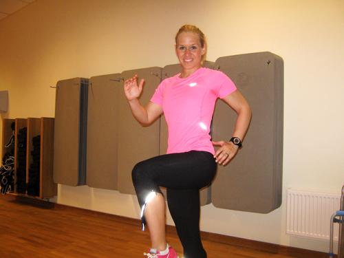 Konditionsintervall med höga knän